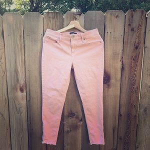 Express Pink Skinny Jeans
